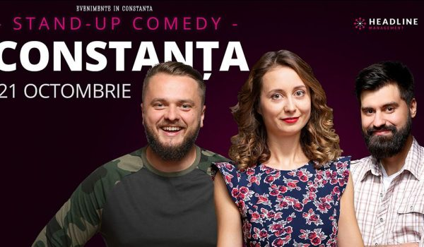 Stand-up comedy cu Ana-Maria Calita