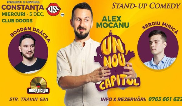 stand-up comedy alex mocanu